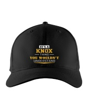KNOX - THING YOU WOULDNT UNDERSTAND Embroidered Hat front