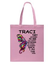 Traci - Im the storm VERS Tote Bag tile