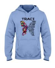 Traci - Im the storm VERS Hooded Sweatshirt tile