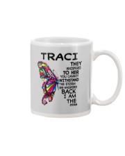 Traci - Im the storm VERS Mug tile