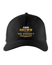 BROWN - Thing You Wouldnt Understand Embroidered Hat front