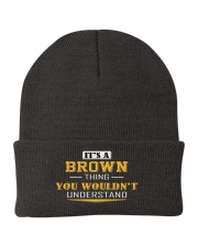 BROWN - Thing You Wouldnt Understand Knit Beanie thumbnail