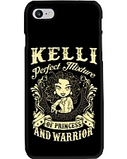 PRINCESS AND WARRIOR - KELLI Phone Case tile