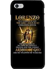 Lorenzo - Warrior of God M004 Phone Case thumbnail