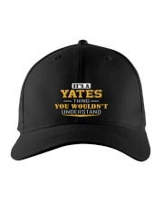 YATES - Thing You Wouldnt Understand Embroidered Hat front