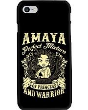 PRINCESS AND WARRIOR - Amaya Phone Case thumbnail