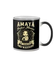 PRINCESS AND WARRIOR - Amaya Color Changing Mug thumbnail