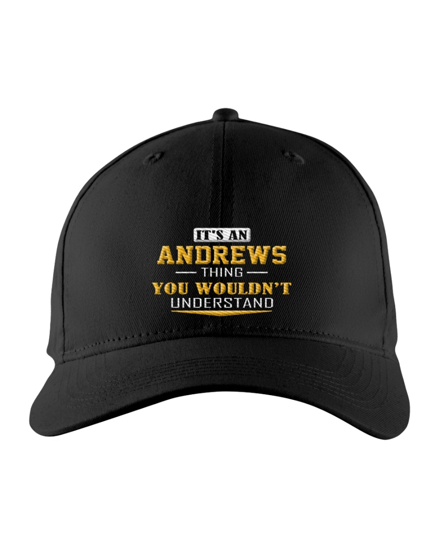 ANDREWS - Thing You Wouldnt Understand Embroidered Hat