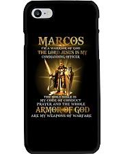 Marcos - Warrior of God M004 Phone Case thumbnail