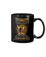 Marcos - Warrior of God M004 Mug front