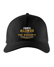 ALONZO - THING YOU WOULDNT UNDERSTAND Embroidered Hat front
