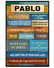 Pablo - PT01 24x36 Poster front