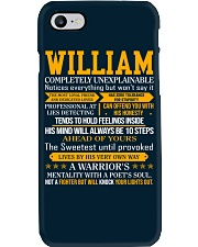 William - Completely Unexplainable Phone Case thumbnail