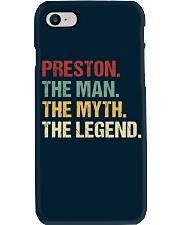 THE LEGEND - Preston Phone Case thumbnail