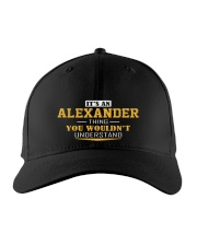 Alexander - Thing You Wouldnt Understand Embroidered Hat front