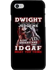 Dwight - IDGAF WHAT YOU THINK M003 Phone Case thumbnail