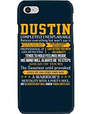 Dustin - Completely Unexplainable Phone Case thumbnail
