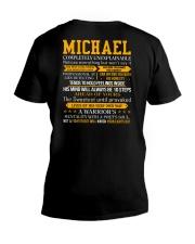 Michael - Completely Unexplainable V-Neck T-Shirt thumbnail