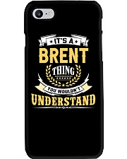 Brent - thing you wouldnt understand M002 Phone Case tile