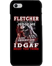 Fletcher - IDGAF WHAT YOU THINK M003 Phone Case thumbnail