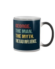 George The man The myth The bad influence Color Changing Mug thumbnail
