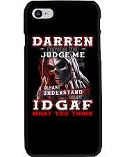 Darren - IDGAF WHAT YOU THINK M003 Phone Case thumbnail