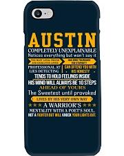 Austin - Completely Unexplainable Phone Case thumbnail