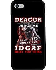 Deacon - IDGAF WHAT YOU THINK M003 Phone Case thumbnail