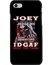 Joey - IDGAF WHAT YOU THINK M003 Phone Case thumbnail