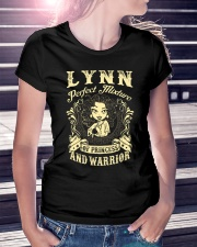 PRINCESS AND WARRIOR - LYNN Ladies T-Shirt lifestyle-women-crewneck-front-7