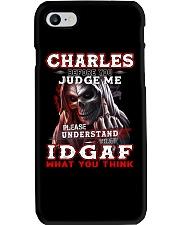 Charles - IDGAF WHAT YOU THINK M003 Phone Case thumbnail