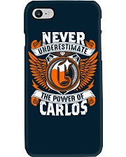 NEVER UNDERESTIMATE THE POWER OF CARLOS Phone Case thumbnail