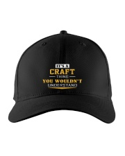 CRAFT - Thing You Wouldnt Understand Embroidered Hat front
