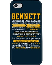 Bennett - Completely Unexplainable Phone Case thumbnail