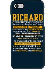 Richard - Completely Unexplainable Phone Case thumbnail