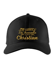 Christian - Im awesome Embroidered Hat front