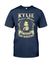 PRINCESS AND WARRIOR - Kylie Classic T-Shirt thumbnail