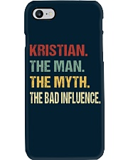Kristian The man The myth The bad influence Phone Case thumbnail