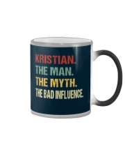 Kristian The man The myth The bad influence Color Changing Mug thumbnail