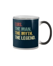 THE LEGEND - Luis Color Changing Mug thumbnail