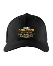 DONALDSON - Thing You Wouldnt Understand Embroidered Hat front