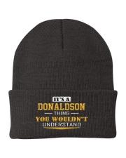 DONALDSON - Thing You Wouldnt Understand Knit Beanie thumbnail