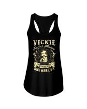 PRINCESS AND WARRIOR - VICKIE Ladies Flowy Tank thumbnail