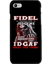 Fidel - IDGAF WHAT YOU THINK M003 Phone Case thumbnail