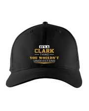 CLARK - THING YOU WOULDNT UNDERSTAND Embroidered Hat front