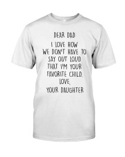 FATHER'S DAY GIFT V002 Classic T-Shirt thumbnail
