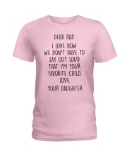 FATHER'S DAY GIFT V002 Ladies T-Shirt thumbnail