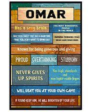 Omar - PT01 24x36 Poster front