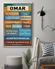 Omar - PT01 24x36 Poster lifestyle-poster-1