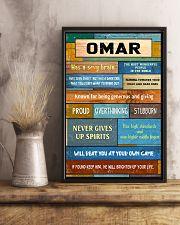 Omar - PT01 24x36 Poster lifestyle-poster-3
